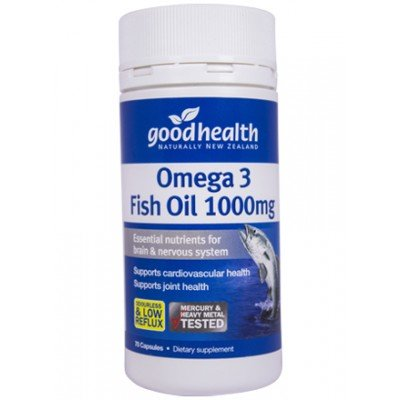 Good Health Omega 3 Fish Oil
